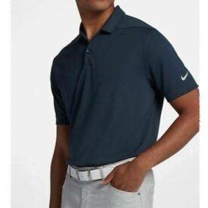 Nike Golf Dri-Fit Polo Navy Blue sz M